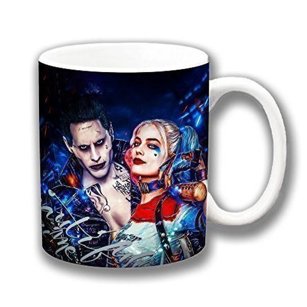 013c4032a45c03 Suicide Squad Movie  Harley Quinn   Joker  Coffee Mug Christmas Gift  Stocking Filler