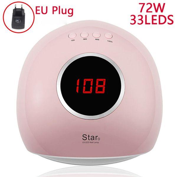 72W Pink EU Plug