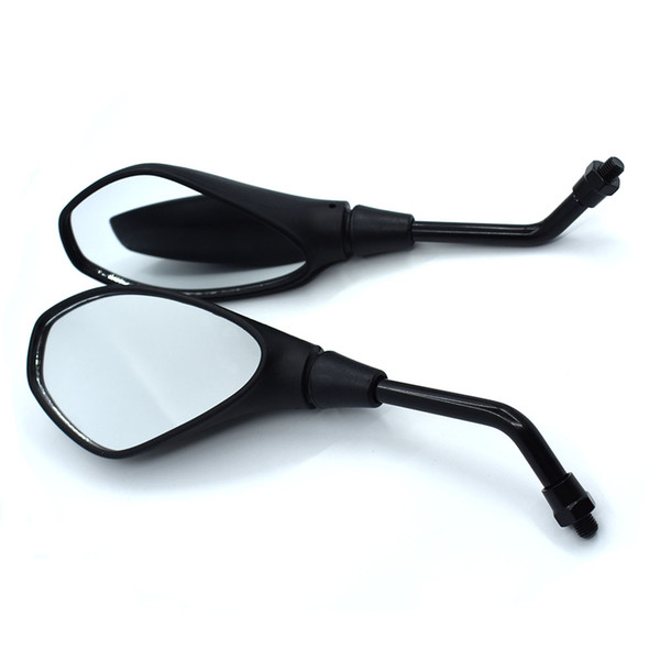 For Universal 10mm Motorcycle Rearview Mirror Left&Right Rear View Mirrors Housing Side Mirror For KTM DUKE 125/200/390 RC390 RC200