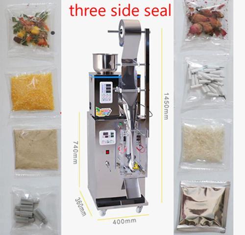 Empaquetadora de tres lados del sello