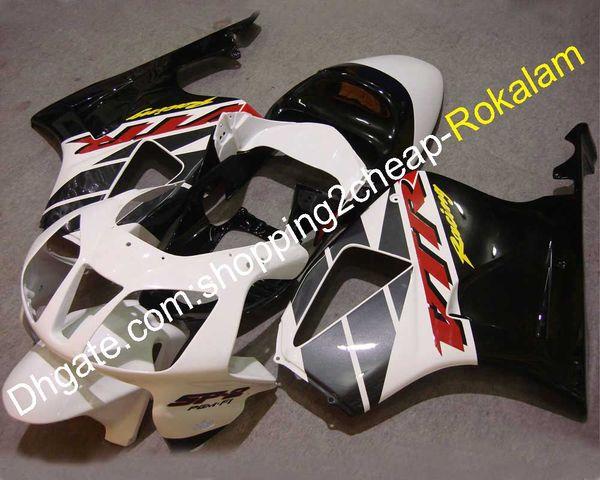 Black White Fairings Aftermarket kit For Honda VTR1000 RC51 SP1 SP2 2000-2006 VTR 1000 RVT1000R R 00-06 Sportbike ABS Plastic Fairing