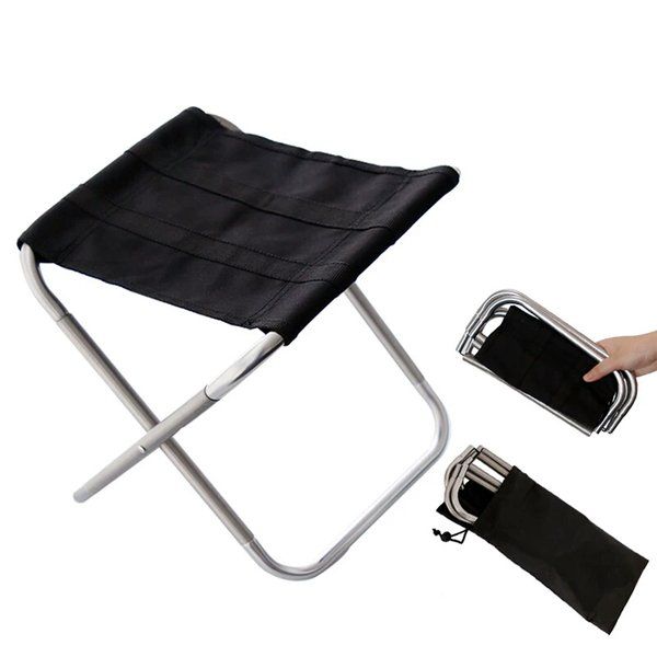 Superb Yuetor Outdoor Mini Folding Stool A Retractable Stool On A Train Adult Thick Fishing Ultralight Portable Small Chair Pinic Camping Light Outdoor Theyellowbook Wood Chair Design Ideas Theyellowbookinfo