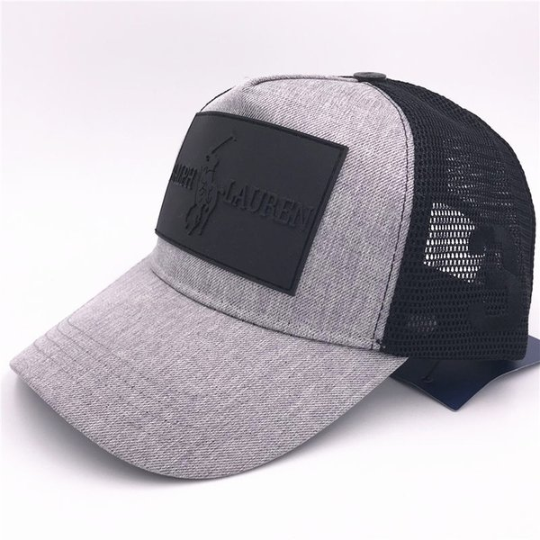 aa9d232f5 Brand Designer New Mesh Hats Autumn Mens Adjustable Baseball Caps Luxury  Lady Fashion Hat Summer Trucker