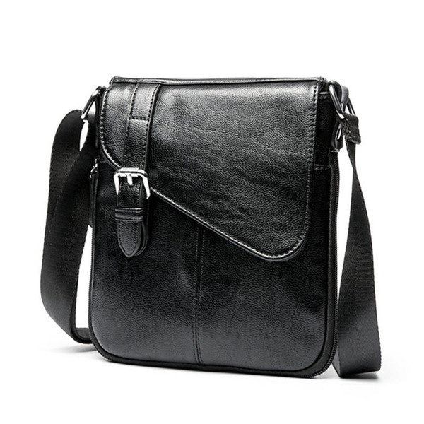 New Men Tote Bags Fashion Shoulder Bag Men High Quality Pu Messenger Bag Male Cross Body Casual Business Leather Bags For Men