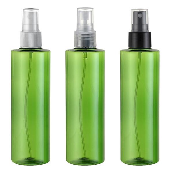 20pcs 250ml cosmétiques Parfum Vaporisateur plastique Maquillage Rechargeables femmes eau Pulvérisateur conteneurs verts