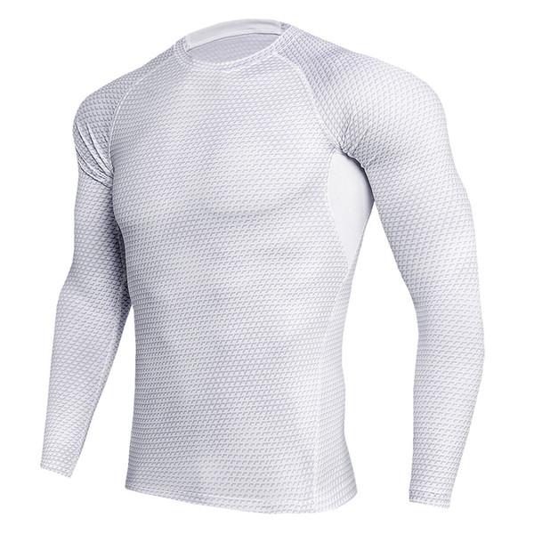 Wholesale Men T shirts Trousers Men's Sportswear Compression Suit Joggers Fitness Base Layer Shirt Leggings Rashguard Clothes Tops Tee