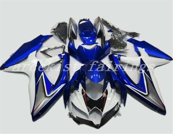 Blau Weiß Grau