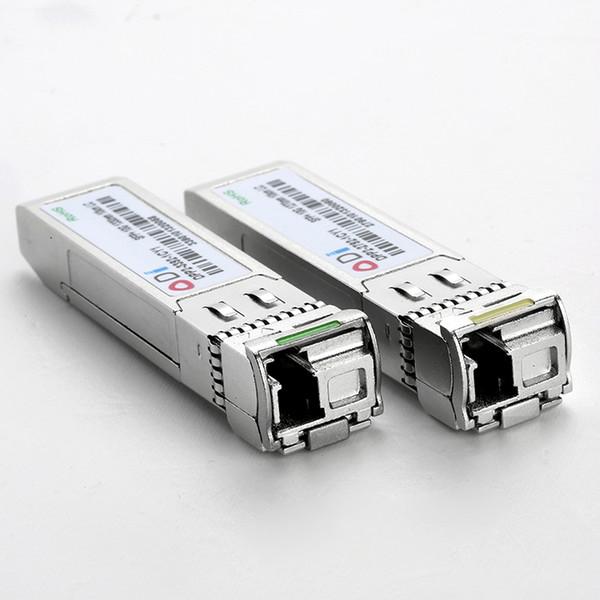 10G ER SFP + BIDI Optik Alıcı-verici Modülü LC Simplex TX1270nm RX1330nm 40 km