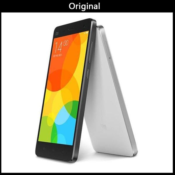 Atacado Original Xiaomi Mi4 4G FDD-LTE MIUI 6 Quad Core RAM 2 GB ROM 16 GB 5.0 polegada 1920 * 1080 FHD 13.0MP telefones celulares de smartphones