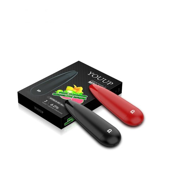 Hot Selling ECIG Vape Pen Kit 240mAh Battery Electronic Cigarette Four Flavors Vaporizer Pen Kit For Smoking