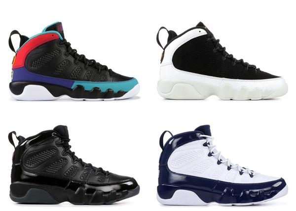 Kutu ile 2019 Erkek Basketbol Ayakkabı 9 S için Erkekler Sneakers Şehir Uçuşu Bred Üniversitesi Mavi Rüya bunu Yapmak Boyutu US7-13