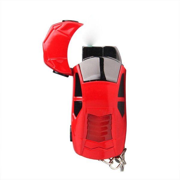 Personalized Lighter Flashing Light Car Sports Car Model Pendant Windproof Lighter Cigarette Accessories Smoking Tool Inflatable Lighters