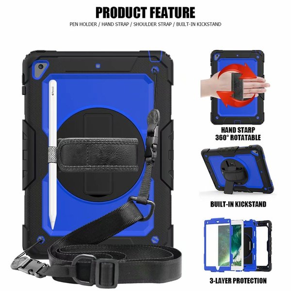 Shoulder Strap Tablets & E-books Case Official Website For Ipad Mini4 Shockproof Kids Protector Case For Ipad Mini 4 Heavy Duty Silicone Hard Cover Shell