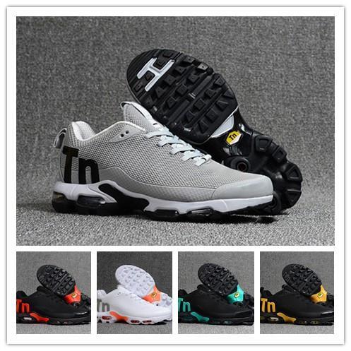 Nike Mercurial Air Max Plus Tn Скидка Высокое Качество Спортивная Повседневная Обувь Новый Tn Мужчины Черный Белый Красный Мужские Дышащие Бегун Кроссовки Человек Тренеры Теннисные