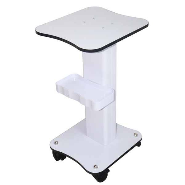 Spa Wheel Trolley for Portable Facial Beauty Machine Salon Use Tool Cart Stand Cart Assembled DHL Free Shipping