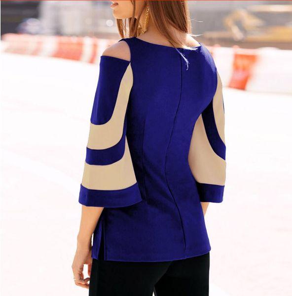 Şık ve seksi İlkbahar ve sonbahar döneminde kadın yarasa kollu etek için omuz maruz örme tişört boyutu; S, M, L, XL