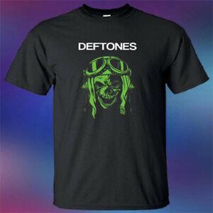 Deftones Ağır Metal RoShort-Kollu Bant Legend Poster Logosu Erkekler 039 s BlaShort-Kollu T Gömlek Beden S 3XL