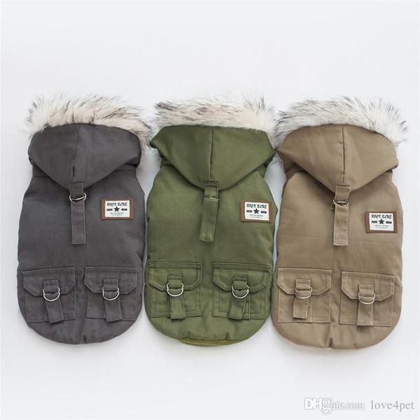 F114 dog winter coat pet dog warm jacket winter clothes warm winter coat 2019 new style