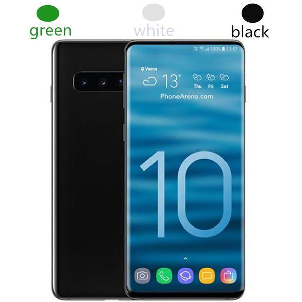 Goophone WCDMA 3G S10 S10 + 6.3 inç MTK6580 Unlocked cep telefonu Dört Çekirdekli Android 7.0 1G Ram 4G / 8G Rom akıllı telefon cep