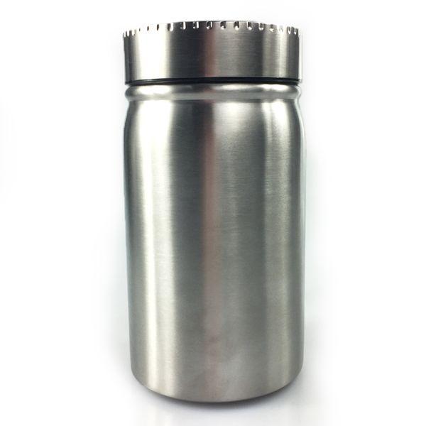 17 oz Mason copo com tampa de aço inoxidável copo de água com palha parede dupla copo de vácuo isolado garrafa A02