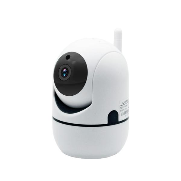 Toptan Fiyat 720 P Full HD Kablosuz IP Kamera Wifi Mini Ağ Video Gözetim Otomatik Takip Kamera IR Gece Görüş