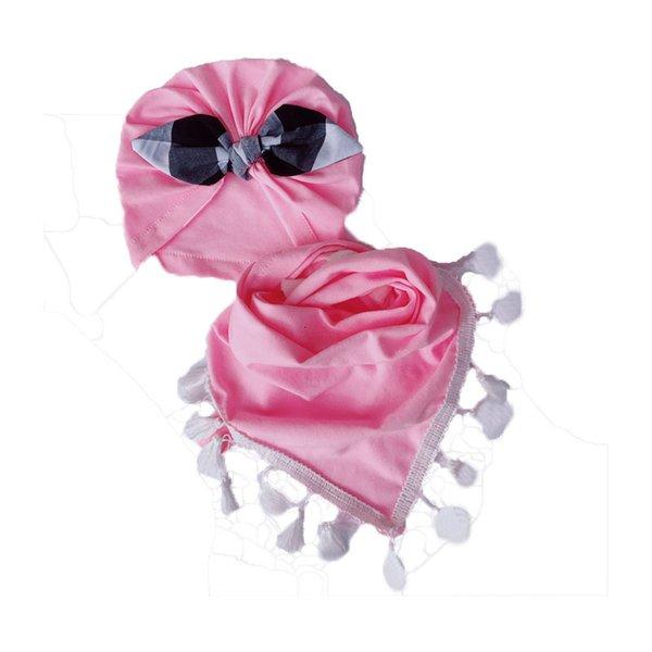 Cotton Pink Plaid Ohren