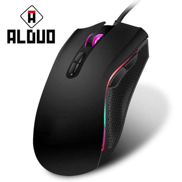 LED Optical USB Wired Gaming Mouse 7 Buttons Gamer Computer Mice Pretty