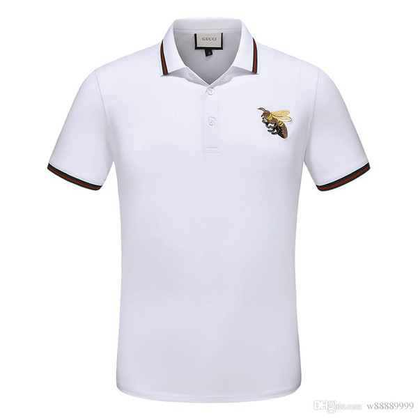 Die hohe Qualität 2018 neue Sommer Kurzarm Classic Männer Marke Polo Lovers Holiday Casual Paar Ms. Mode T-Shirts