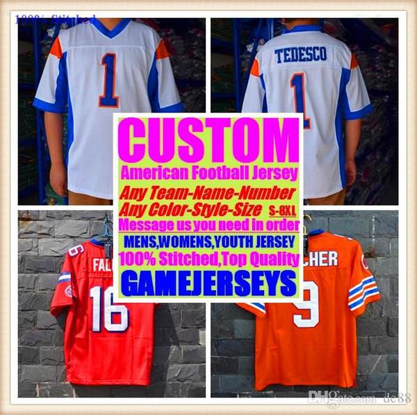 Camisas de futebol americano personalizado Houston New York faculdade autêntica retro rugby futebol basquete hóquei de basquete jersey 4xl 7xl 8xl homem novo