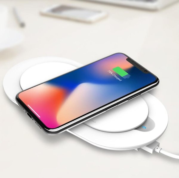 LDNIO PW1003 5000mAh Wireless charger USB Li-Polymer Slim Powerbank with output port For Xiaomi iPhone Mobile Phone