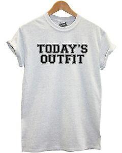 Hoy 039 s Traje Camiseta Blogger Moda Lema Camiseta Estilo Mujer Mujeres Hombres Top Cita