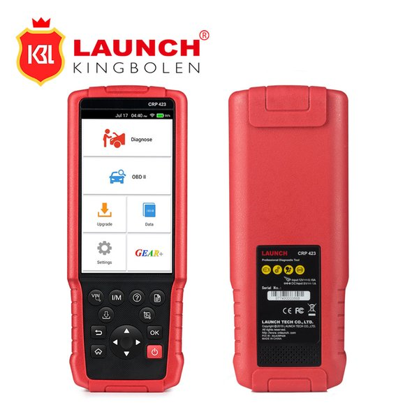 LAUNCH CRP423 OBD2 Auto Scanner support Engine/ABS/Airbag/AT OBD 2 CRP 423 diagnostic tool FREE Update PK CRP129