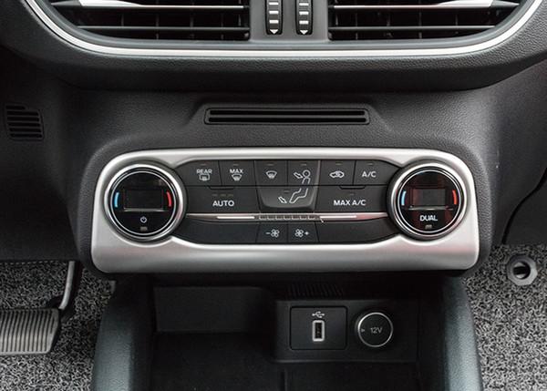 Auto che designa gli accessori 1PCS ABS in plastica interne Aria condizionata Regolare disposizione della copertura della per Ford Focus 2019 2020