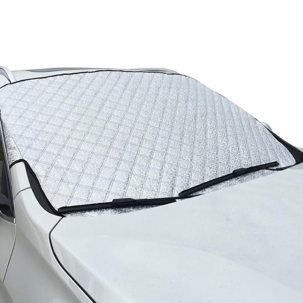 Inverno Venda Quente SUV 100 cm * 147 cm Janela Do Carro Neve Sombrinha Tampa Do Carro Janela Auto Sol Reflexivo Sombra de neve Pára ...