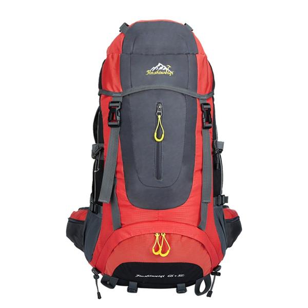 65L + 5L Outdoor Backpack Waterproof Climbing Hiking Backpack Packs Trekking Travel Camping Mountaineering Sport Bag #805953
