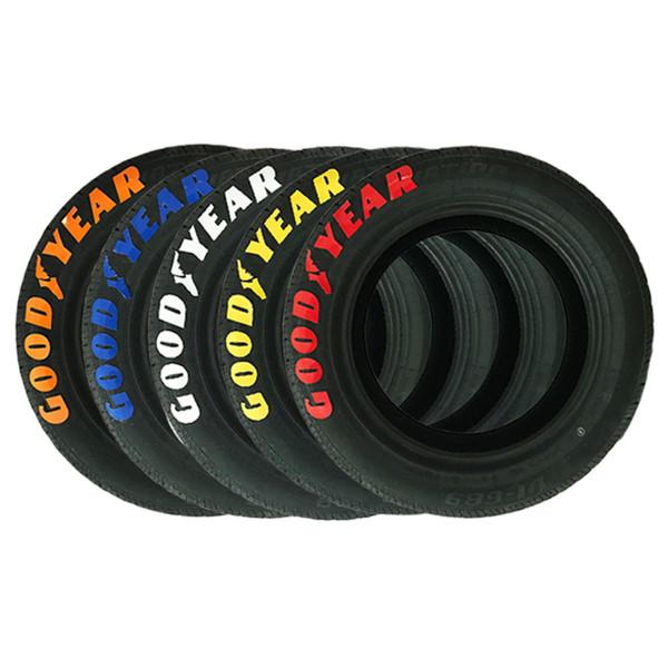 Auto tuning logo universal 3D etiqueta engomada de la rueda del neumático Auto motocicleta estilo personalizado divertido decoración de deportes pegatinas calcomanías