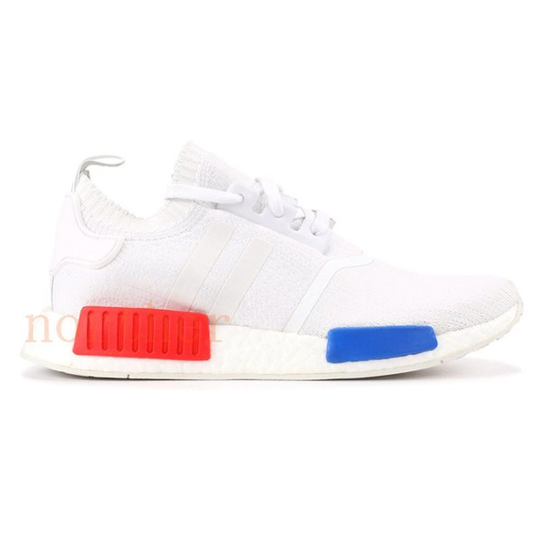 Vintage white red blue