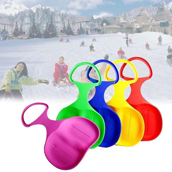 Esportes ao ar livre Esqui Pad Trenó Snowboard para Crianças Adulto Crianças Inverno Engrossar Areia De Plástico Grama Sledge Neve Luge