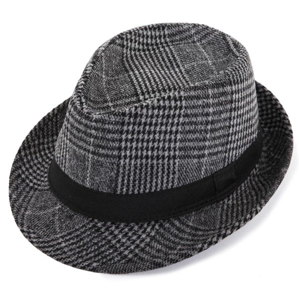 Christmas fashion new men and women British retro gentleman jazz hat Korean wave fashion small hat visor stage