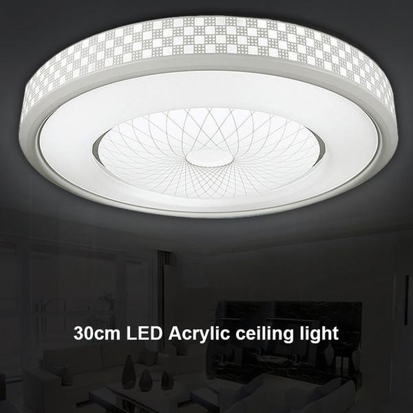 Großhandel LED Acryl Deckenleuchte Runde Schlafzimmer Balkon Lampen Küche  Flur Licht ALI88 Von Burty, $61.21 Auf De.Dhgate.Com   Dhgate