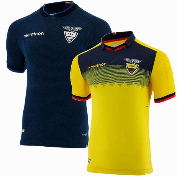 2019 2020 Ecuador Soccer Jerseys RAMIREZ VALENCIA home away 19 20 football shirt S-2xl