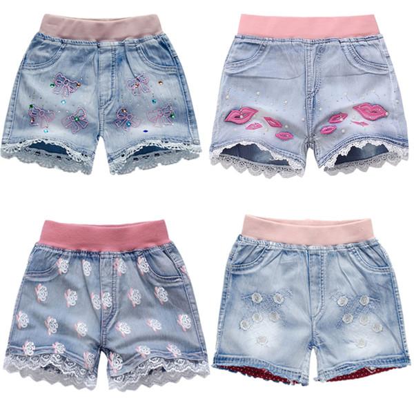3-10T new fashion children kids short boys girls cartoon short wholesale casual children pants boys shorts jean free shipping