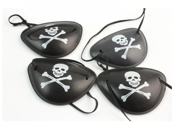 Pirate Eye Patch Skull Crossbone Halloween Party Favor Bag Costume Kids Toy Party Masks Free Shipping