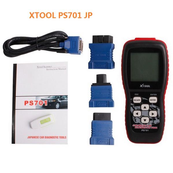 Original Xtool PS701 Ferramenta de Diagnóstico JP AUTO PS 701 OBD2 Diagnóstico para Carros Japoneses Scanner