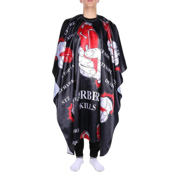Professional Waterproof Cloth Hair Cutting Gown Cape Hairdressing Hairdresser Salon Barber Apron