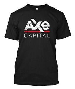 Axe Capital II Billions Symbol Company new Custom Men 039 s BlaO-Neck T Shirt Tee
