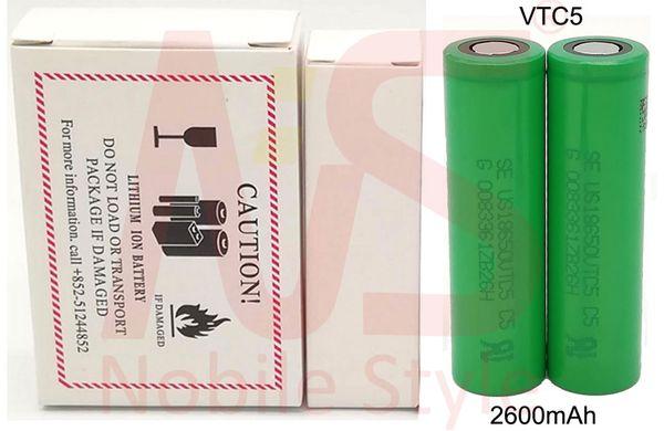 VTC5-2600mAh