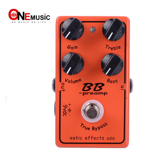 best selling Free Shipping Guitar Effect Pedal Overdrive And Boost And True Typass MU0369