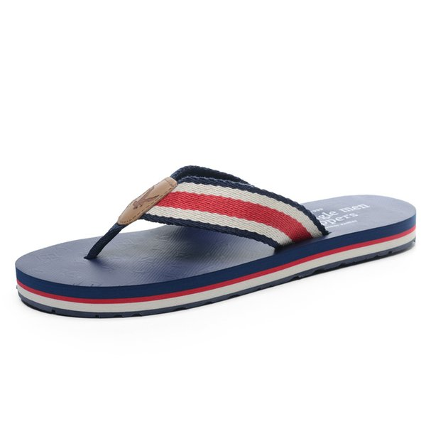 367f4cc2a4cb 2019 Summer New Style Slippers Men s Wear Tide Flip Flops Personality  Korean Version Of The Trend
