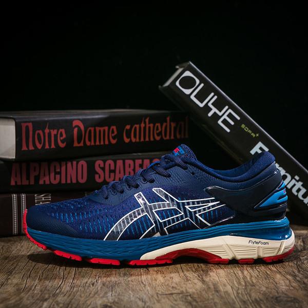 ASICS GEL KAYANO 25 Running Shoes Onitsuka Tiger Men Women Designer Shoes New Cushion Jogging Shoes Sport Sneakers Size 40-45